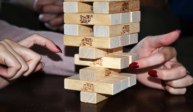 jenga drinking rules